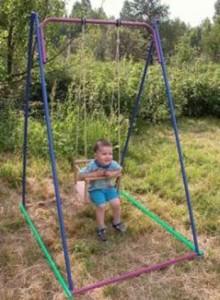 дачные качели для детей