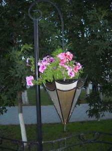 цветочный горшок подвесной
