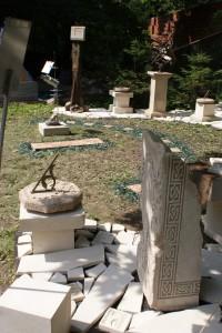 Солнечные часы в стиле Древней Греции