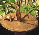 Солнечные часы с черепахой