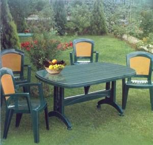 Пластиковая садовая мебель