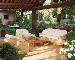 Текстильная садовая мебель