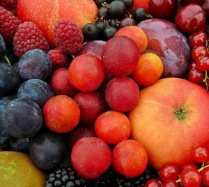 Урожай садовых фруктов