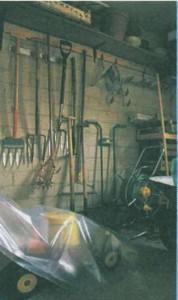 Чистота и порядок в хозяйственном помещении