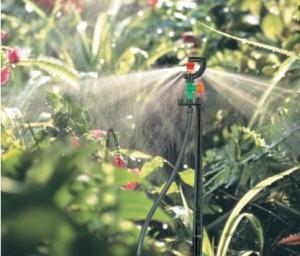 Система полива цветов