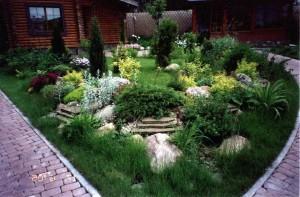 Идея для садовой клумбы