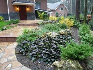 Дизайн сада на загородном участке