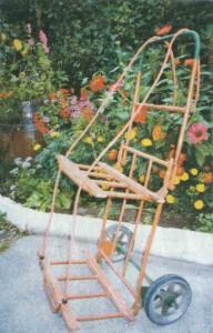 Создание садовой тележки