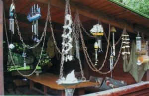 Декор летней кухни