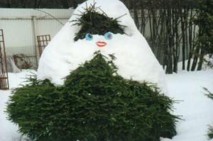 Украшение зимнего сада