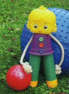 Садовая кукла своими руками