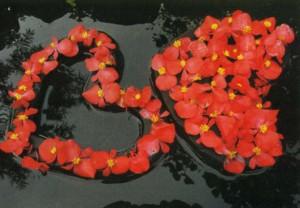 Плавающее садовое украшение