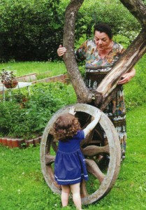 Декоративное колесо