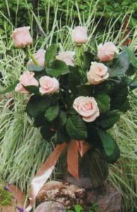 Букет роз из дачного розария