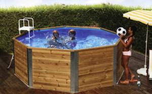 Дизайн садового бассейна