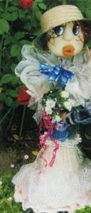 Садовая кукла Белоснежка