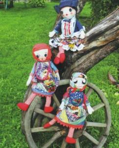 Мягкие самодельные куклы