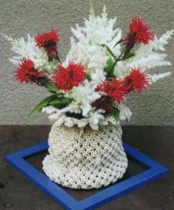 Сочетание разных цветов в одной вазе