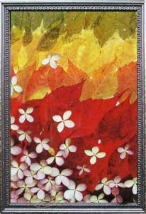Осенняя композиция из цветов