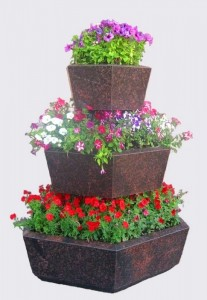 Вертикальные горшки для цветов