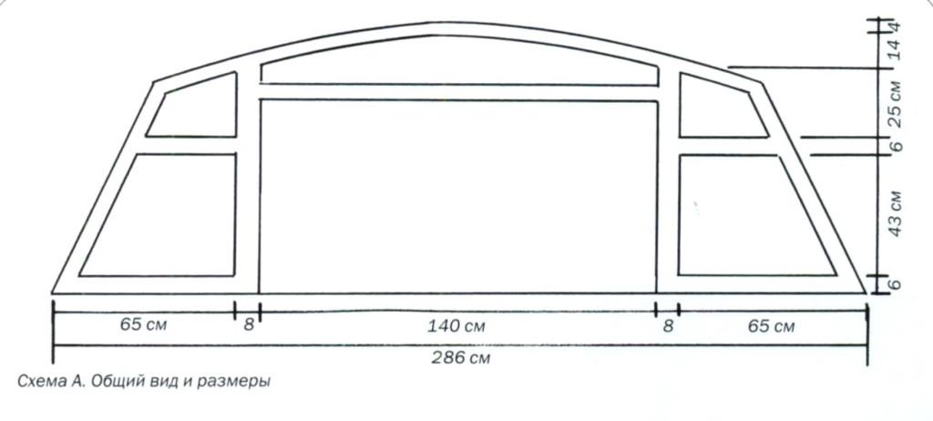 Общий вид и размеры изделия