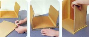 Разметка и проклейка картона