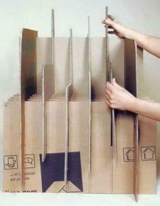 Собираем кресло из картона