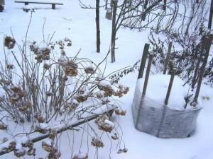 Снег в больших количествах