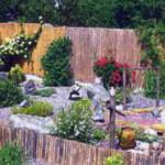 Японский уголок в саду
