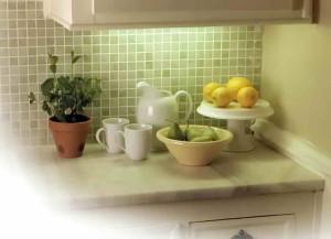 Подсветка кухонной столешницы