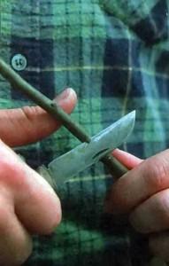 Правильная постановка ножа