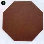 Восьмиугольник из картона