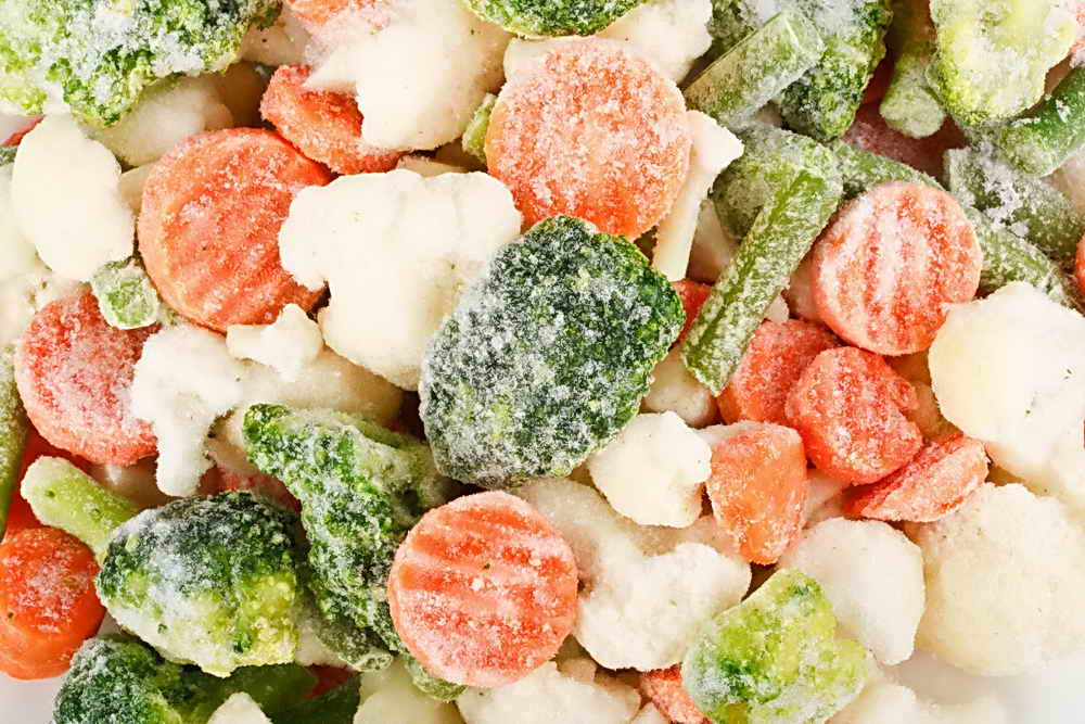 Картинки заморозка овощей