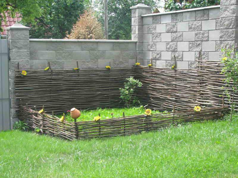 Как дома сделать декоративный забор