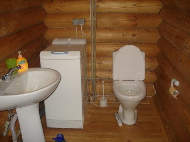 Как самому сделать туалет в доме