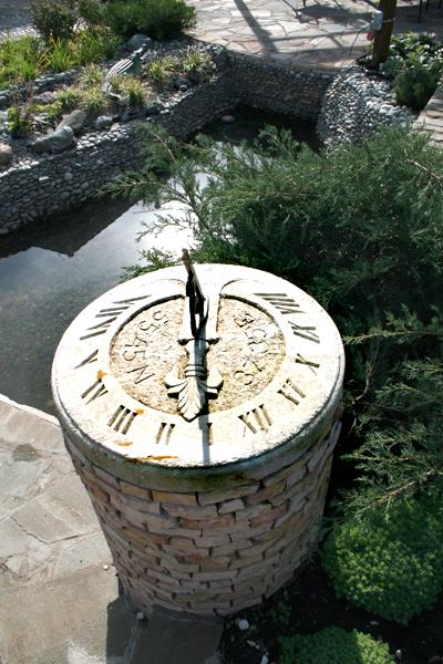 Солнечные часы для дачи своими руками