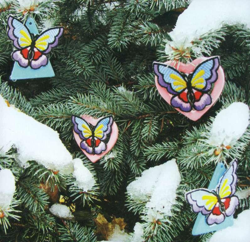 Бабочки на даче своими руками