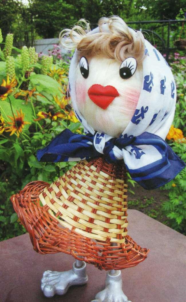 Садовые куклы своими руками фото 49