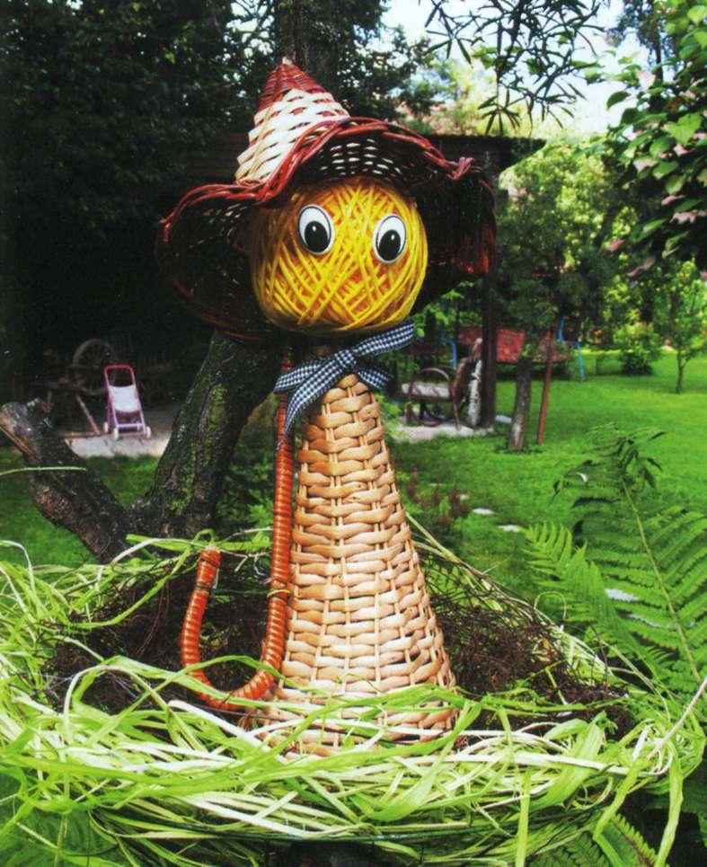 Садовые куклы своими руками фото 97