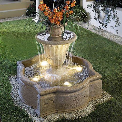 Насос для фонтан для дачи своими руками