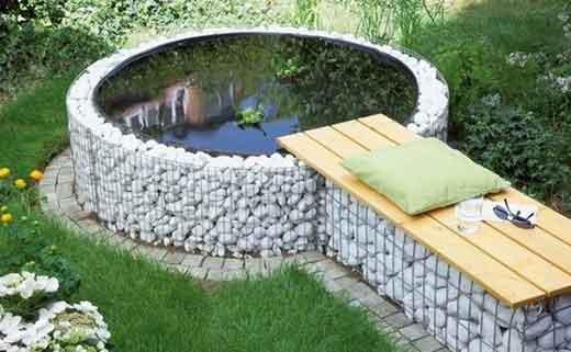 Как сделать искусственный пруд на даче своими руками