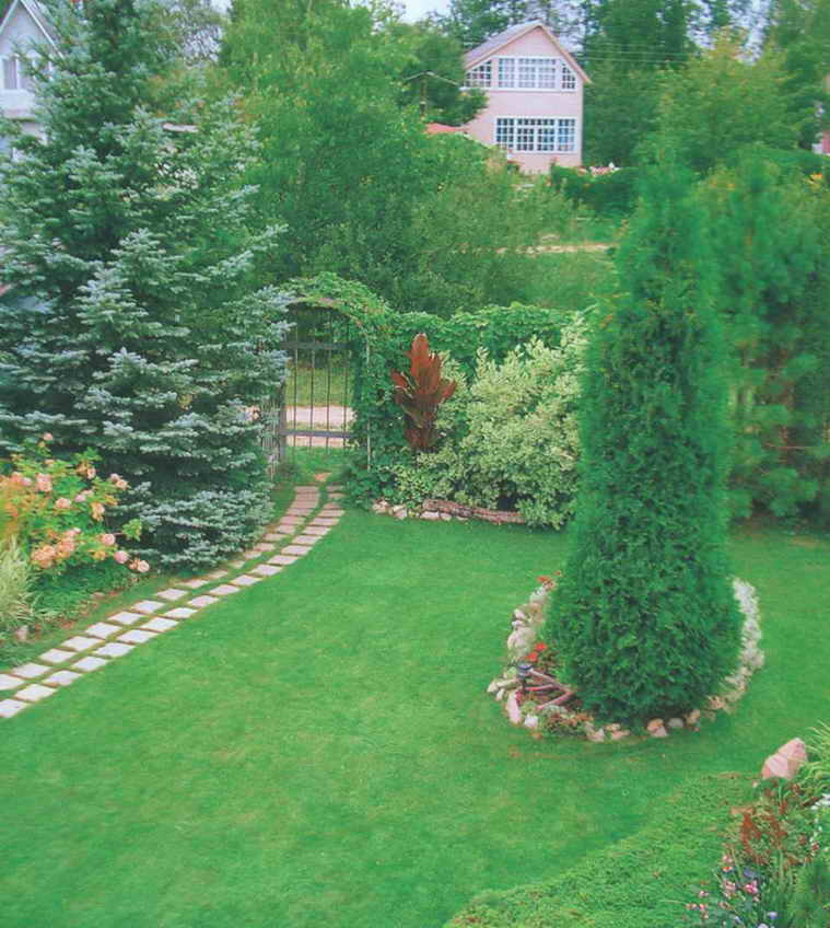 Дизайн садовых участков 6 соток своими руками фото