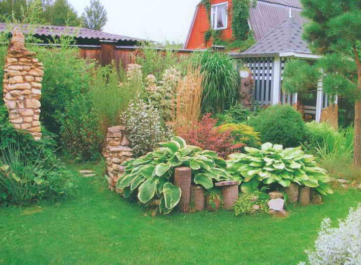 Дизайн садового участка своими руками 5 соток
